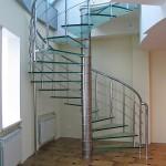 Стеклянные лестницы в Перми
