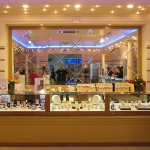 Стеклянные витрины для ювелирного магазина